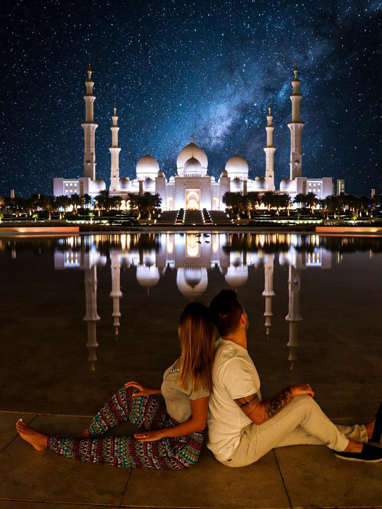 Abu Dhabi und Dubai